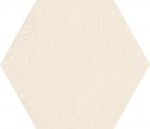 Dechirer Esagona decor bianco 120x120