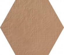 Dechirer Esagona decor ecru 60x60