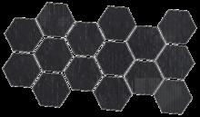 Dechirer Mosaico random decor nero 22x45