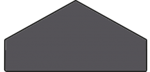 Tex Battiscopa black 10.5x20