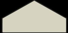 Tex Battiscopa cream 10.5x20
