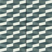 Azulej Cubo Nero 20x20