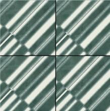 Azulej Diagonal Nero 20x20
