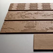 Bas Relief Patchwork relief cipria 18x54